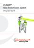 ProfiDAT Data Transmission System Program 0514
