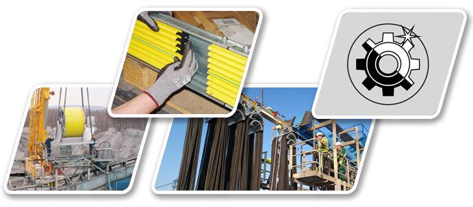 Eftermontering - renovering - modernisering - service - Conductix-Wampfler