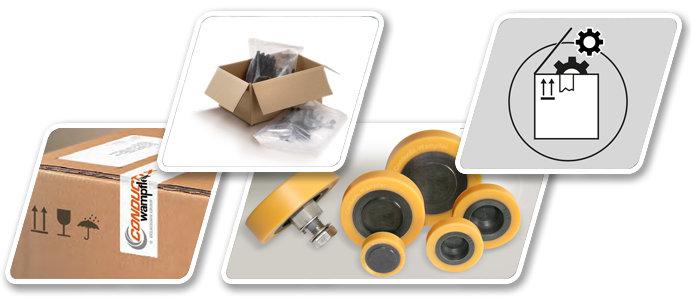Reservdelar - reparationsdelar - service - Conductix-Wampfler